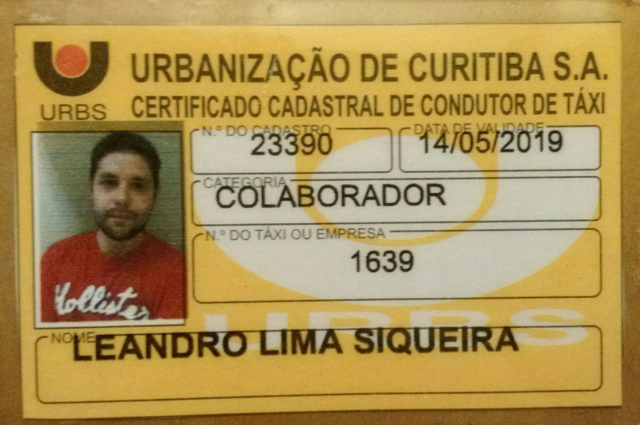 Town Car Brazil transport licence