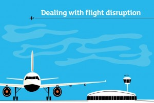 Flight disruption picture
