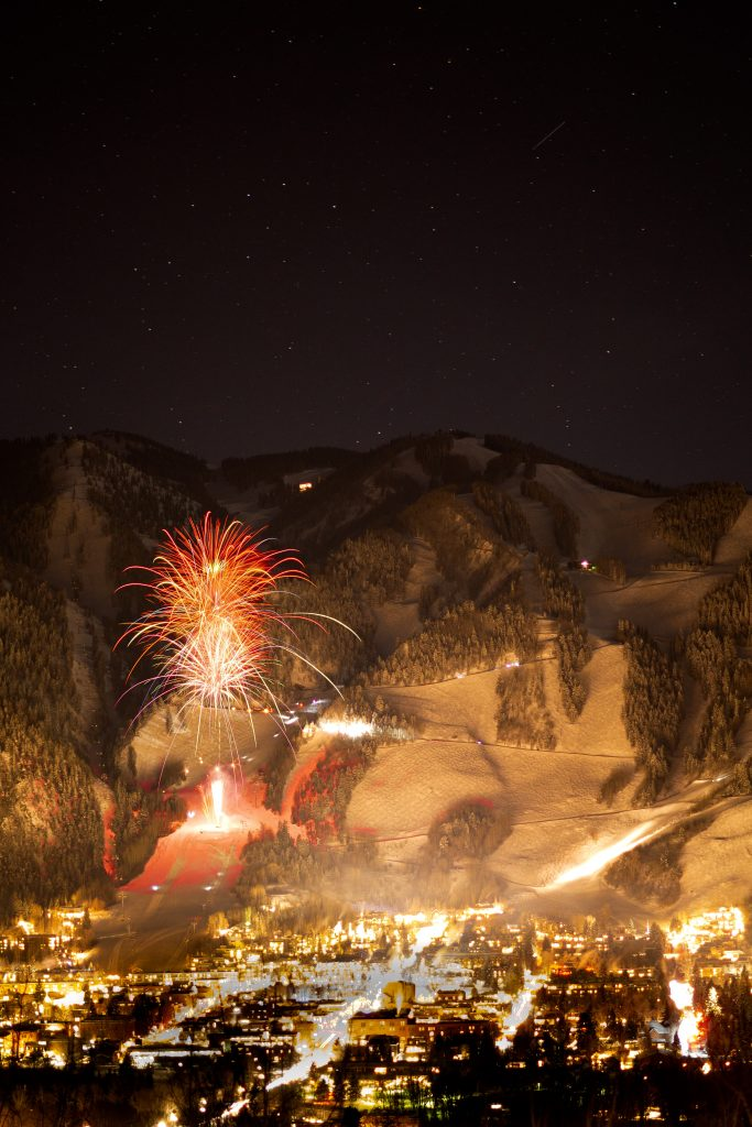 Aspen Colorado fireworks display