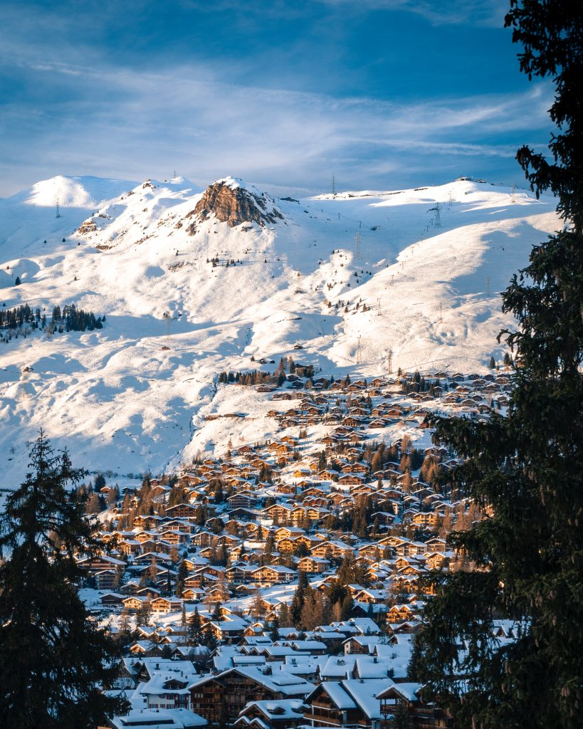 Verbier village, Switzerland