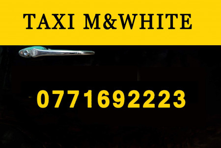 TAXI M WHITE main photo.