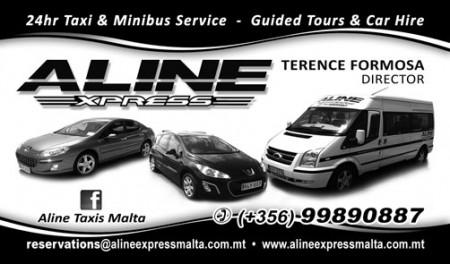 Aline Express Taxis Malta main photo.